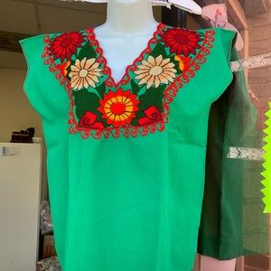Mexican dresses and shirts